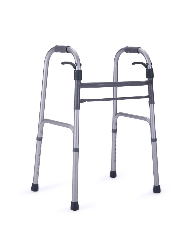 9123 Lever folding walker