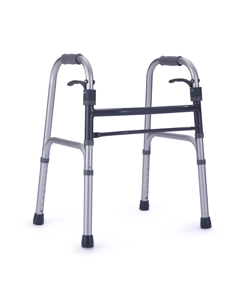 9126 Lever folding walker