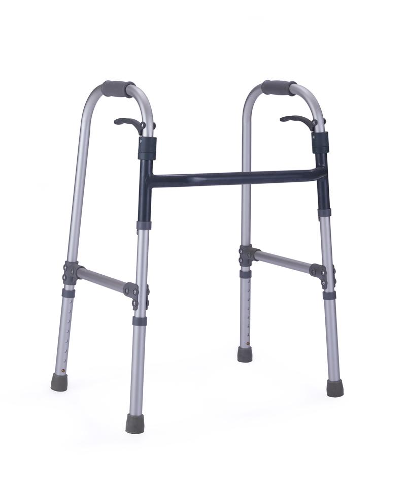 9134 Lever folding walker