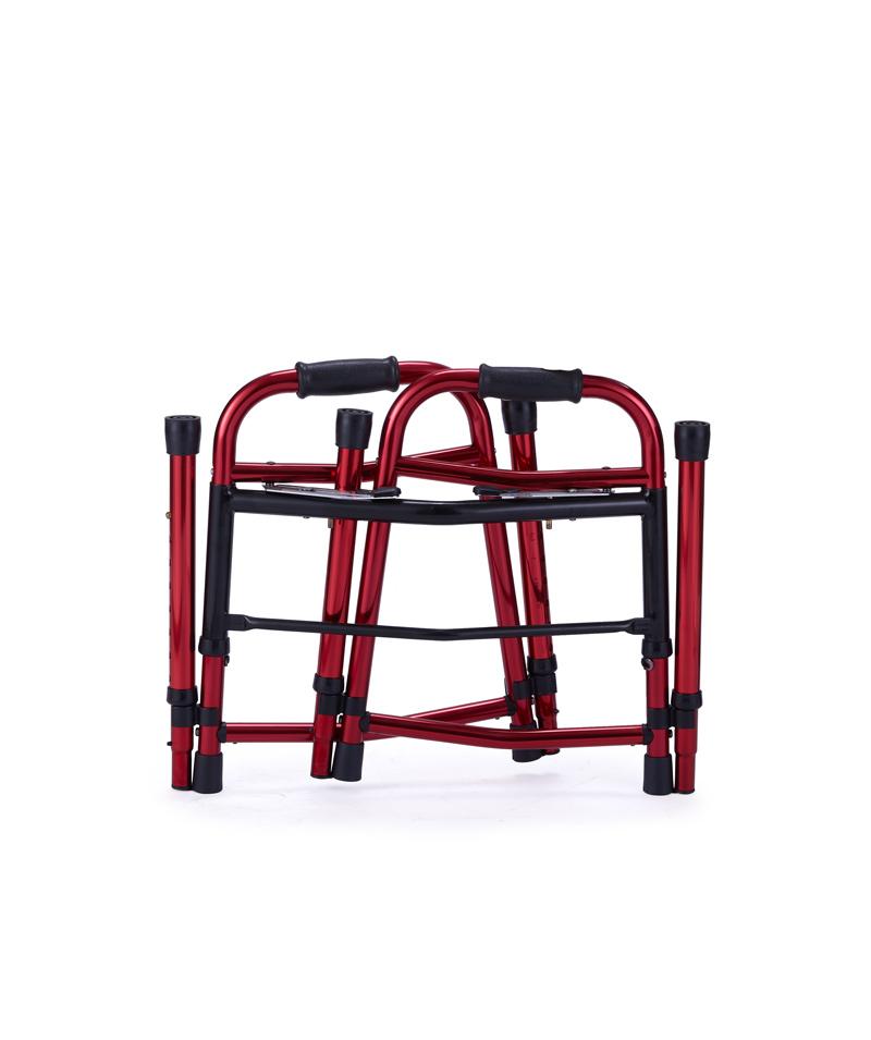9165 Dual-release double folding walker