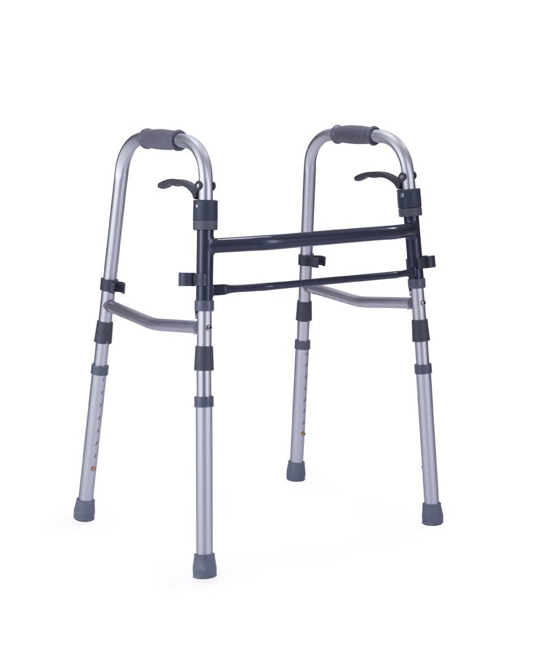 9119 Lever double folding walker