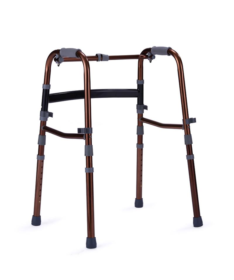 9150 Single release double folding walker