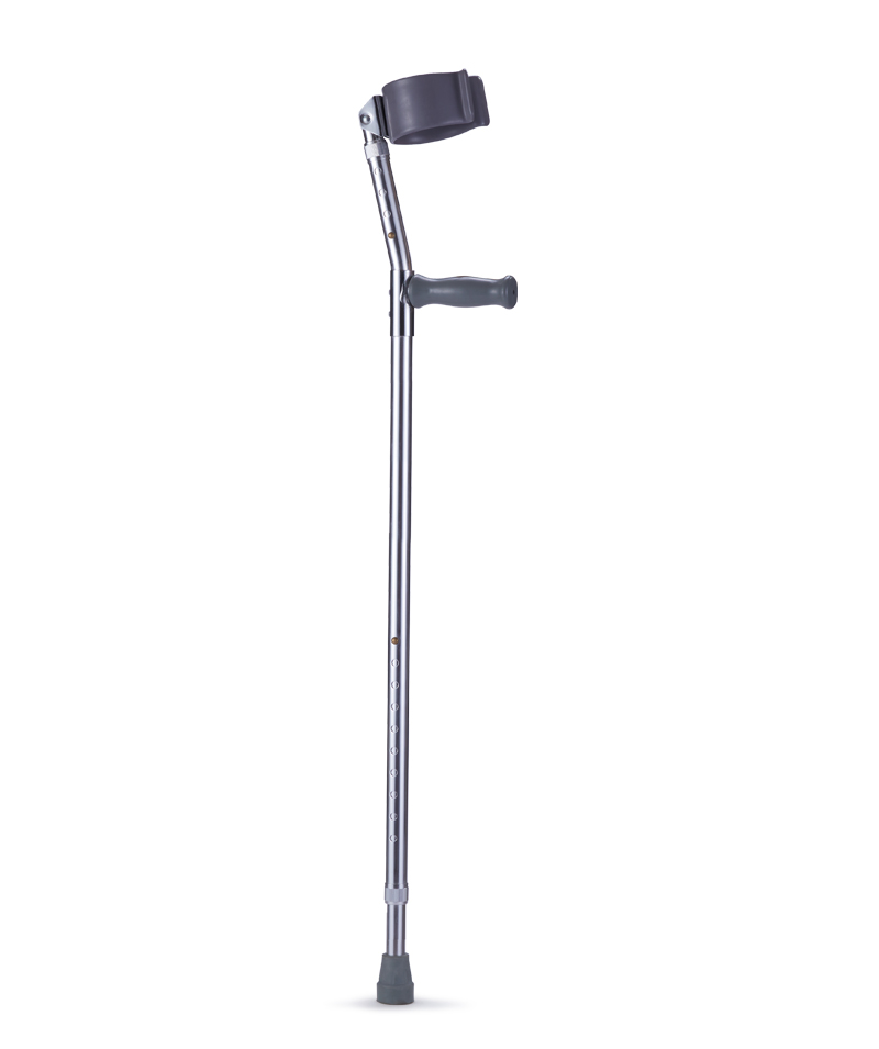 9330 Forearm Crutches with Dipping Curf