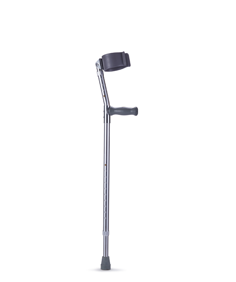 9331 Forearm Crutches with Dipping Curf