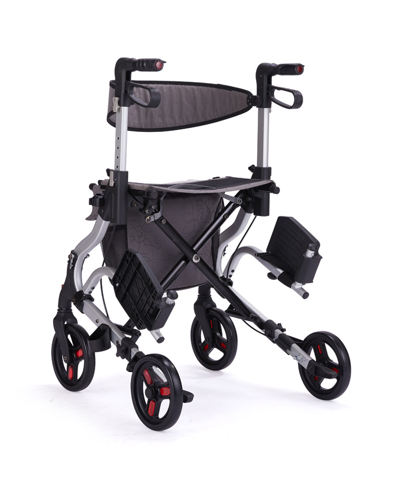 9295 Rollator With Footrest