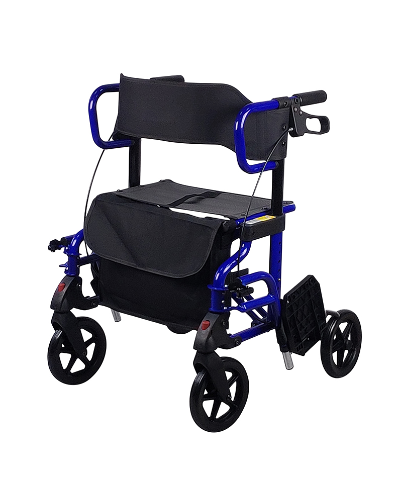 9234 Rollator With Footrest