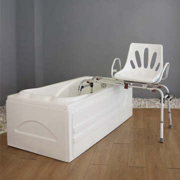 Swivel Transfer Bench And Shower Chair - Safety And Convenience While Bathing